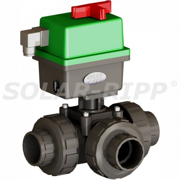 3 Way Actuated Valve